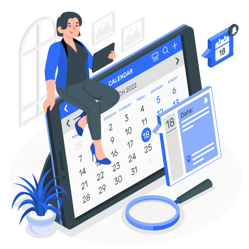 Axind WebTnA, your TnA (Time-and-Action calendar) on the web